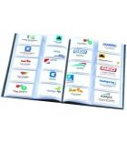 Porte-cartes de visite élégance - A4 - pour 400 cartes