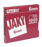 Boîte de 1000 agrafes RAPID - Jaky 6