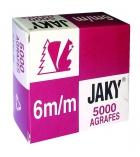 Boîte de 5000 agrafes RAPID - Jaky 6