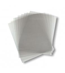 Paquet de 100 plats de couvertures transparents incolores - A4 - épaisseur 30/100e