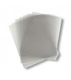 Paquet de 100 plats de couverture transparents incolores - A3 - épaisseur 20/100e