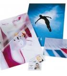 Boîte de 100 pochettes de plastification brillantes - A4 - 75 microns par face