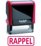 """Tampon TRODAT- X printy - encrage automatique """"rappel"""""""