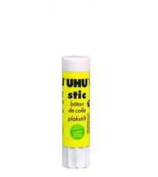 Colle en bâton UHU - blanc - 8 g