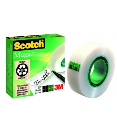 Rouleau invisible SCOTCH - Magic 810 - 19 mm x 33 m