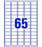 Boîte de 6500 étiquettes laser pour adresse AVERY - L7651 - 38,1 x 21,2 mm