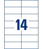 Boîte de 1400 étiquettes multiusages AVERY 3653 - 105 x 42,3 mm