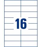 Boîte de 1600 étiquettes multiusages AVERY 3484 - 105 x 37 mm