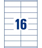 Boîte de 1600 étiquettes multiusages AVERY 3423 - 105 x 35 mm