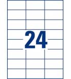 Boîte de 2400 étiquettes multiusages AVERY 3474 - 70 x 37 mm