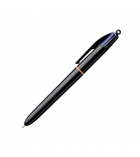 Stylo bille BIC - Pro - pointe moyenne 1 mm - 4 couleurs