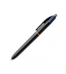 Stylo bille BIC - Pro - pointe moyenne 1 mm - 4 couleurs