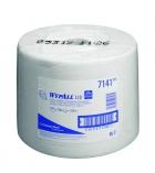 Bobine d'essuyage industriel fibres recyclées WYPALL - 1500 feuilles - blanc