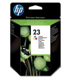 Cartouche d'impression jet d'encre 3 couleurs HP 350 pages - C1823DE - 23XL