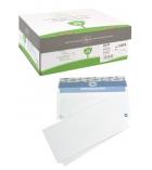 Boîte de 500 enveloppes auto-adhésives LA COURONNE - 110 x 220 mm - sans fenêtre - 80 g