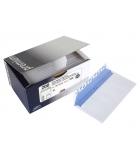 Boîte de 100 enveloppes auto-adhésives - 162 x 229 mm - fenêtre 45 x 100 - 100g