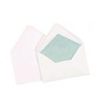 Paquet de 25 enveloppes doublées et gommées LA COURONNE - 90 x 140 mm - sans fenêtre