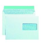 Boîte de 500 enveloppes auto-adhésives recyclées - 162 x 229 mm - fenêtre 45 x 100 - 80 g