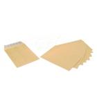 Boîte de 250 pochettes auto-adhésives kraft milleraie - 229 x 324 mm - sans fenêtre - 90 g