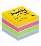 Mini-cube POST-IT - 450 feuiles 51 x 51 mm multicolore