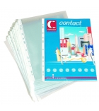 Boîte de 100 pochettes grainées et perforées - A4