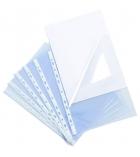 Sachet de 10 pochettes ouverture coin polypro - A4