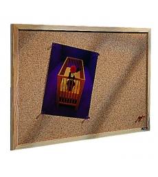 Tableau en liège - cadre bois - 60 x 90 cm