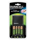 Chargeur de piles Traveller DURACELL - 2 piles AA et 2 piles AAA