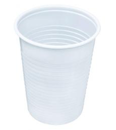Paquet de 100 gobelets blancs opaques - 20 cl