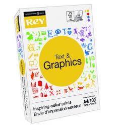 Ramette de papier 500 feuilles INTERNATIONAL PAPER Rey Text & Graphics - A4 - 100g
