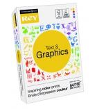Ramette de papier 250 feuilles INTERNATIONAL PAPER Rey Text & Graphics - A4 - 160g