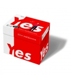 Carton de 5 rames de 500 feuilles de papier UPM Yes Silver perforé 4 trous - A4 80g