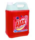 Nettoyant AJAX fête des fleurs rouges - 5 litres
