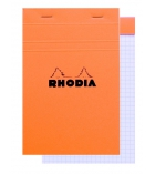 Bloc-notes agrafé RHODIA - 80 pages 11 x 17 cm - 5 x 5 - 80g