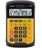 Calculatrice étanche CASIO WM-320MT résistante eau et poussière - 12 chiffres