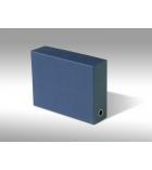 Boîte de classement toilée en carton - pour A4 - dos 9 cm
