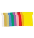 Paquet de 100 fiches T pour planning - 60 mm - indice 2