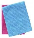 Lot de 5 lavettes microfibres - 40 x 40 cm