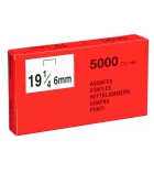Boîte de 5000 agrafes - type SP19 1/4 - 6 mm
