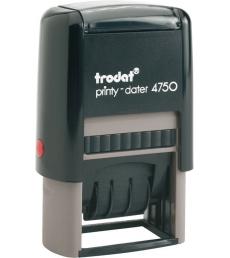 Dateur automatique avec texte TRODAT Ecoprinty 4750L - 4 mm