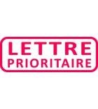 """Tampon TRODAT- X printy - encrage automatique """"lettre prioritaire"""""""
