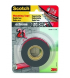 Ruban fixatif SCOTCH - 2 usages - 19 mm x 1,5 m