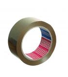 Paquet de 6 adhésifs TESA - PVC havane - 50 mm x 66 m