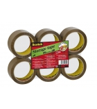 Lot de 6 rouleaux acrylique SCOTCH - 50 mm x 66 m