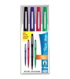 Pochette de 4 feutres PAPER MATE - Nylon Flair - pointe moyenne - assortiment couleurs classiques