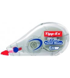 Roller de correction TIPP-EX - Mini Pocket Mouse - 5 mm x 6 m