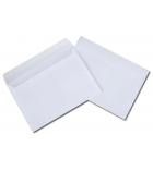 Boîte de 500 enveloppes auto-adhésives - 114 x 162 mm - sans fenêtre - 90 g