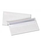 Boîte de 500 enveloppes autocollantes - 110 x 220 mm - sans fenêtre - 80 g