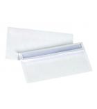 Boîte de 500 enveloppes auto-adhésives - 110 x 220 mm - sans fenêtre - 90 g