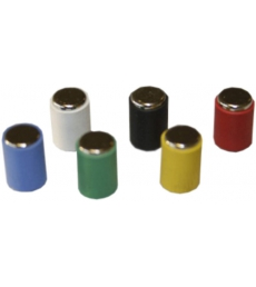 Lot de 12 aimants surpuissants - Ø 6 mm - assortiment